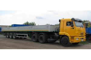 Полуприцеп бортовой МАЗ-975800-2010
